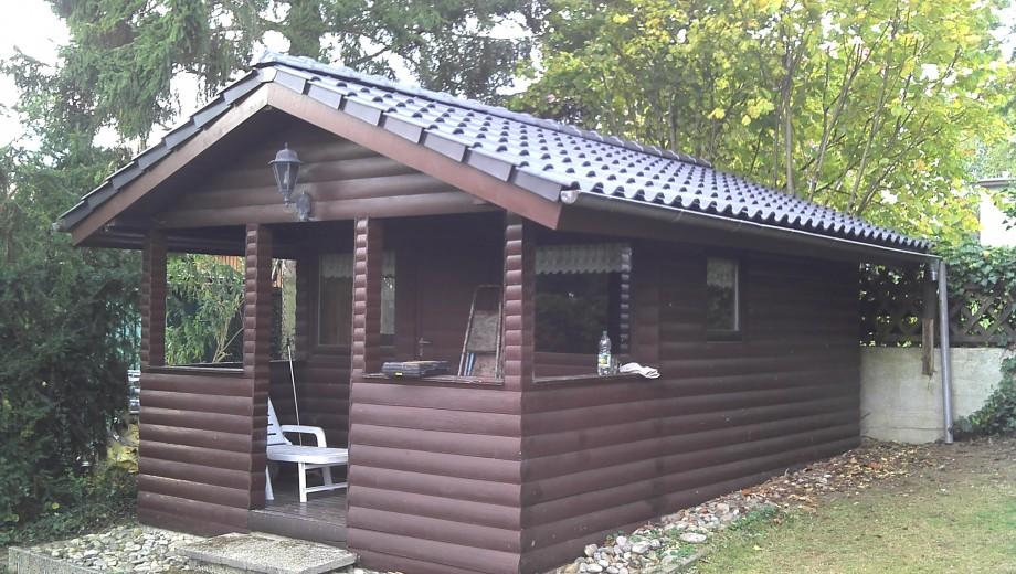 Neueindeckung Gartenhaus