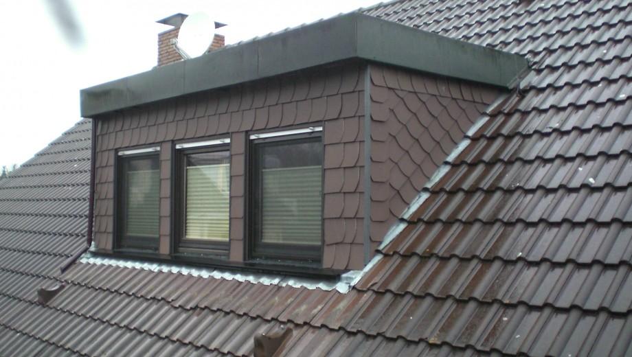 Sanierung einer Dachgaube
