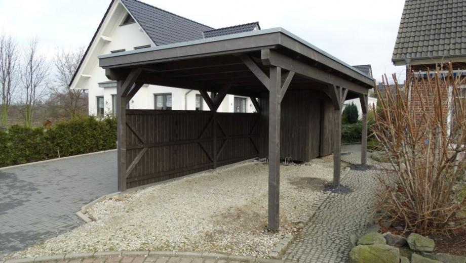 Dachbau bissendorf blog archive carport mit for Carport bedachung
